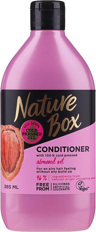 Odżywka do włosów z olejem ze słodkich migdałów - Nature Box Almond Oil Conditioner
