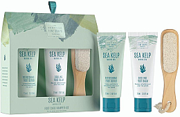 Kup Zestaw - Scottish Fine Soaps Sea Kelp Foot Care Pamper Kit(f/scr/75ml + f/balm/75ml + f/file)