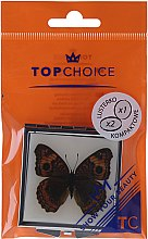 Kup Lusterko kosmetyczne, Motyl 85420, brązowe - Top Choice