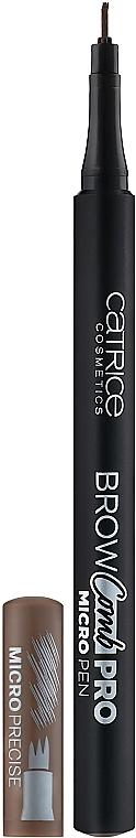 Pisak do brwi - Catrice Brow Comb Pro Micro Pen