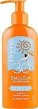 Kup Emulsja ochronna do twarzy i ciała - Lirene Sun Care Sporty Moisturizing Emulsion SPF 30