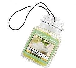 Kup Zapach do samochodu - Yankee Candle Vanilla Lime Car Jar Ultimate