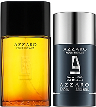 Azzaro Pour Homme - Zestaw (edt 50 ml + deo 75 ml) — фото N2
