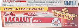 Kup Zestaw Pasta do zębów Activ paradontoza + szczoteczka do zębów - Lacalut Activ Paradontosis