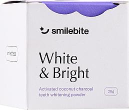 Kup Proszek do wybielania zębów z węgla kokosowego - Smilebite White & Brigh Coconut Charcoal Teeth Whitening Powder