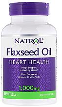 Kup Olej lniany, 1000 mg - Natrol Flaxseed Oil Heart Health
