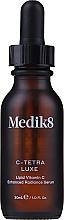 Kup Intensywne serum do twarzy z witaminą C i antyoksydantami - Medik8 C-Tetra Luxe Lipid Vitamin C Enhanced Radiance Serum