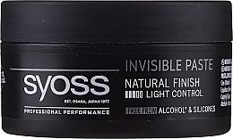 Kup Nabłyszczająca pasta do stylizacji włosów - Syoss Invisible Paste Light Control