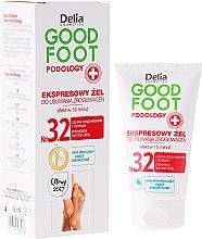 Kup Ekspresowy żel do usuwania zrogowaceń - Delia Cosmetics Good Foot Podology Nr 3.2
