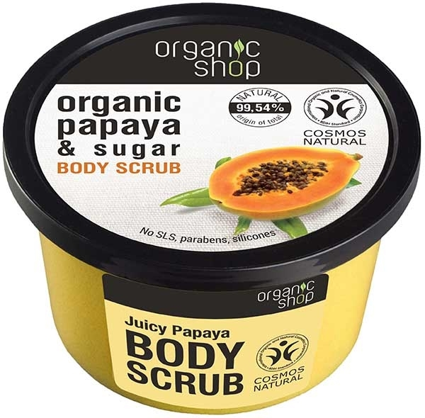 Scrub do ciała Papaja i cukier - Organic Shop Papaya & Sugar Body Scrub