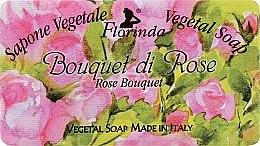Kup Mydło naturalne w kostce Bukiet róż - Florinda Sapone Vegetale Vegetal Soap Rose Bouquet