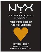 Kup Matowy cień do powiek - NYX Professional Makeup Matte Shadow Beyond Nude