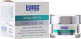 Kup Multiaktywny krem przeciwzmarszczkowy na dzień z kwasem hialuronowym - Eubos Med Anti Age Hyaluron Repair Filler Day Cream