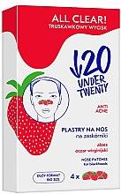 Kup Oczyszczające plastry na nos na zaskórniki - Under Twenty Anti! Acne All Clear! Nose Strip