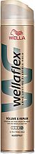 Kup PRZECENA! Ultramocny lakier do włosów Objętość i naprawa - Wella Wellaflex Volume & Repair *