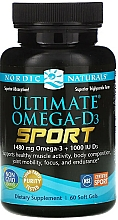 Kup Suplement diety Omega-D3 Sport, 1480 mg - Nordic Naturals Ultimate Omega-D3 Sport