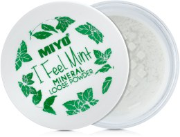Kup Mineralny sypki puder do twarzy - Miyo I Fell Mint Mineral Loose Powder