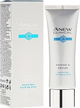 Kup Detoksykująca maska do twarzy z antyoksydantami - Avon Anew Clinical Antioxidant Purifying Mask