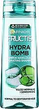 Kup Wzmacniający szampon do włosów odwodnionych - Garnier Fructis Aloe Hydra Bomb Shampoo