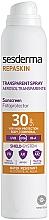 Kup Transparentny spray do ciała z filtrem - SesDerma Laboratories Repaskin DNA Repair Spray Transparente SPF30