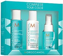 Kup Zestaw kosmetyków do włosów farbowanych - Moroccanoil Travel Kit Color Complete (shm 70 ml + cond 70 ml + spray 50 ml)