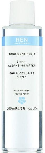 Oczyszczająca woda 3 w 1 - REN Rosa Centifolia 3-In-1 Cleansing Water — фото N1