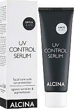 Kup Przeciwsłoneczne serum do twarzy - Alcina N°1 UV Control Serum