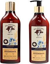 Kup Zestaw regenerujący do włosów zniszczonych Potrójna moc natury - Mrs. Potter's Triple Grain (shm 390 ml + cond 390 ml)