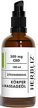 Kup Olejek do masażu CBD i trawa cytrynowa - Herbliz CBD