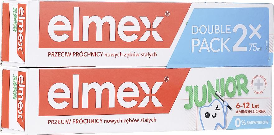 Zestaw - Elmex Junior Toothpaste (2 x toothpaste 75 ml)