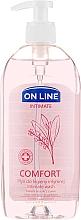 Kup Płyn do higieny intymnej z szałwią, kwasem mlekowym i d-panthenolem - On Line Intimate Comfort Intimate Wash