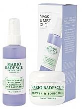 Kup Zestaw - Mario Badescu Lavender Mask & Mist Duo Set (mask/56g + spray/118ml)