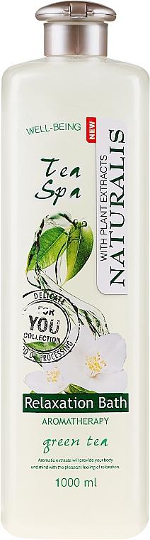 Relaksujący olejek do kąpieli Zielona herbata - Naturalis Tea Spa Relaxation Bath