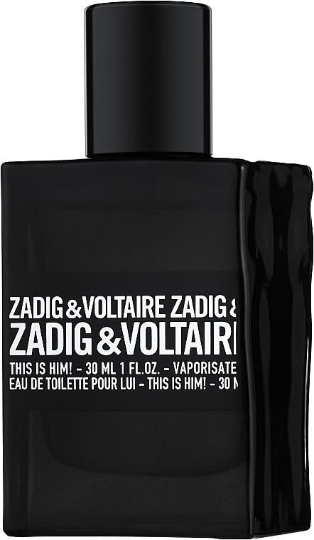 Zadig & Voltaire This is Him - Woda toaletowa (tester z nakrętką)