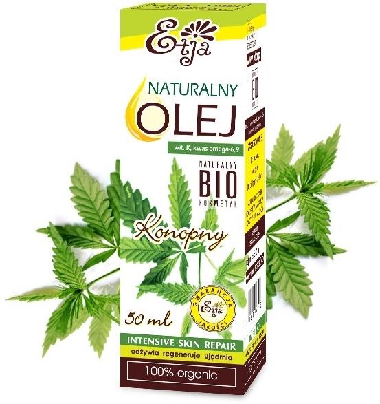 Naturalny olej konopny - Etja
