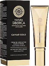 Kup Aktywny krem na dzień do twarzy Zastrzyk młodości - Natura Siberica Caviar Gold Active Day Face Cream