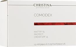 Kup Matujący krem ochronny do twarzy - Christina Comodex-Mattify&Protect Cream SPF15