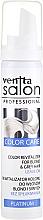 Kup Pianka rewitalizująca kolor włosów 3 w 1 w piance Redukcja żółtego odcienia - Venita Salon Professional Platinum Color Care