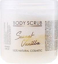 Scrub do ciała Słodka wanilia - Sezmar Collection Professional Body Scrub Sweet Vanilla — фото N1