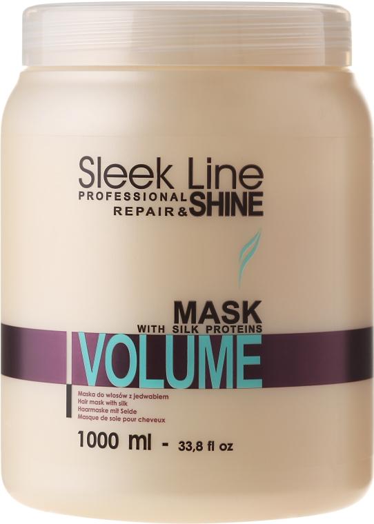 Maska dodająca włosom objętości - Stapiz Sleek Line Volume