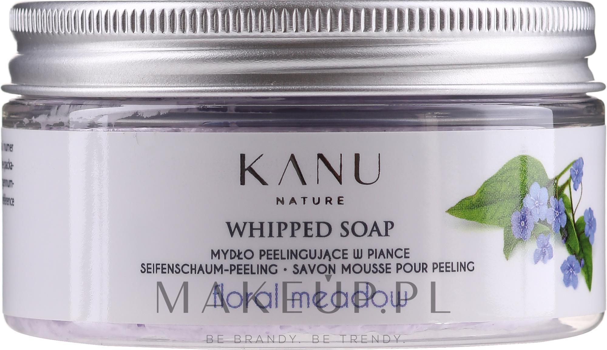 Mydło peelingujące w piance Kwiatowa łąka - Kanu Nature Floral Meadow Peeling Soap — фото 60 g