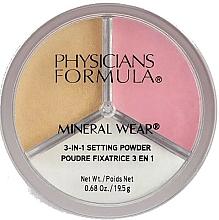 Kup Puder mineralny do utrwalania makijażu - Physicians Formula Mineral Wear 3-In-1 Setting Powder