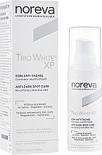 Kup PRZECENA! Rozjaśniający krem do twarzy przeciw przebarwieniom - Noreva Laboratoires Trio White XP Anti-Dark Spot Care *