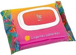 Kup Chusteczki do twarzy i ciała z brokatem - Peggy Sage Glitter Wipes