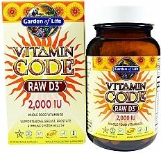 Kup Suplement diety - Garden of Life Vitamin Code Raw D3, 50 mcg