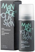 Kup Antyperspirant dla mężczyzn - Dr. Spiller Manage Your Skin Mild Antiperspirant