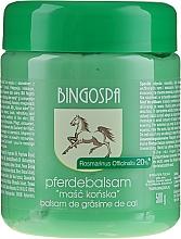 Kup Maść końska z rozmarynem - BingoSpa Ointment Horse With Rosemary