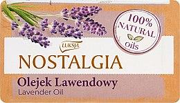 Kup Mydło w kostce z olejkiem lawendowym - Luksja Nostalgia