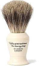 Kup Pędzel do golenia, P375 - Taylor of Old Bond Street Shaving Brush Pure Badger size M