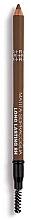Kup Kredka do brwi ze szczoteczką - Rougj+ Glamtech 8H Long-Lasting Brow Pencil